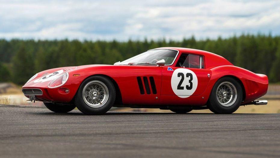 Rare Ferrari GTO sells for record $70 million