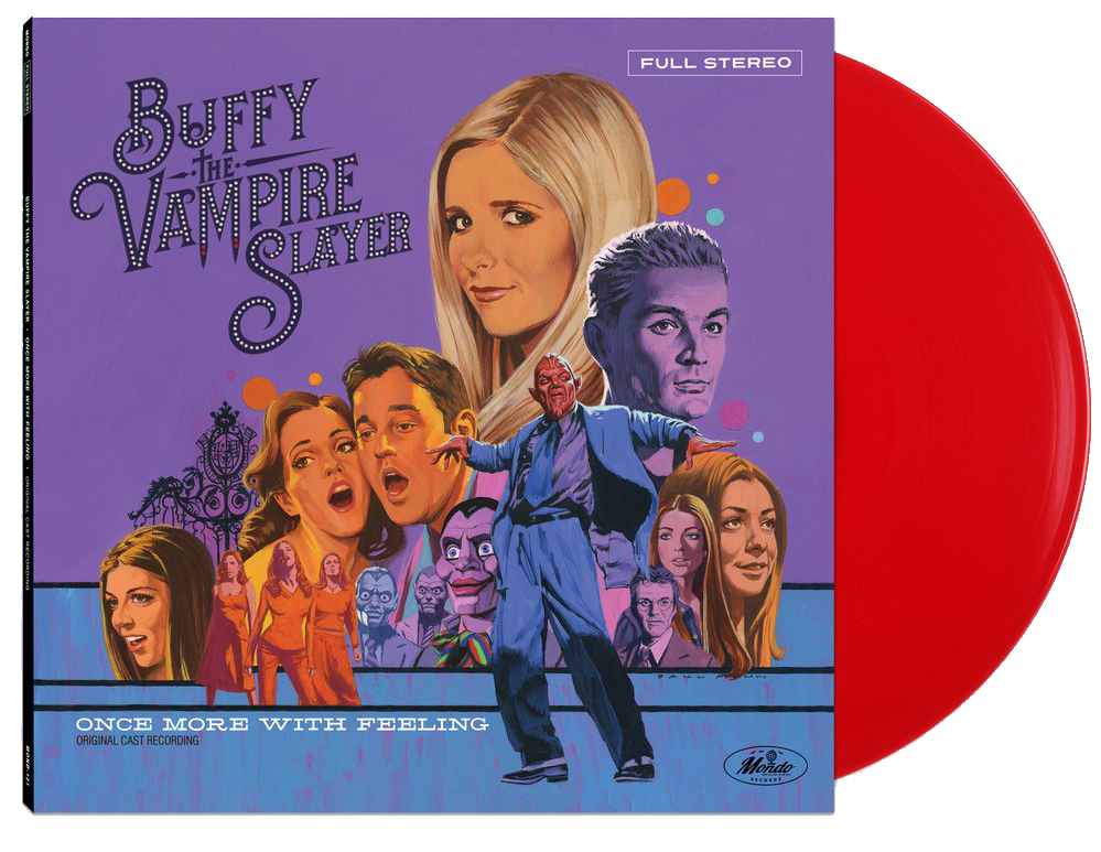 Buffy on red vinyl